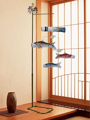 スタンド鯉のぼり