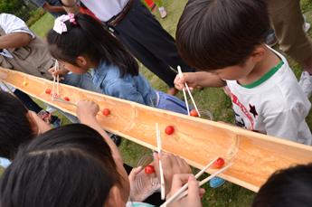 日本一さくらんぼ祭り流し