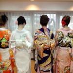 結婚式で女性が着物を着る場合の髪型・髪飾りでオススメは?