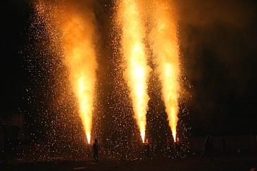 豊橋祇園祭 手筒花火