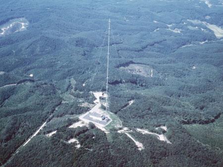 おおたかどや山標準電波送信所