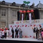 """「日本一さくらんぼ祭り」で開催される""""流しさくらんぼ""""や""""種飛ばし""""を紹介"""