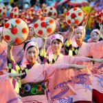山形花笠祭りの由来と2016年の日程とは?