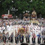 成田祇園祭(2016)の日程と開催時間とは?